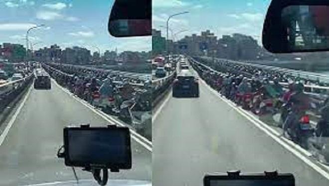 Kẹt xe ngăn nắp ở Đài Loan và ngụy biện của người Việt