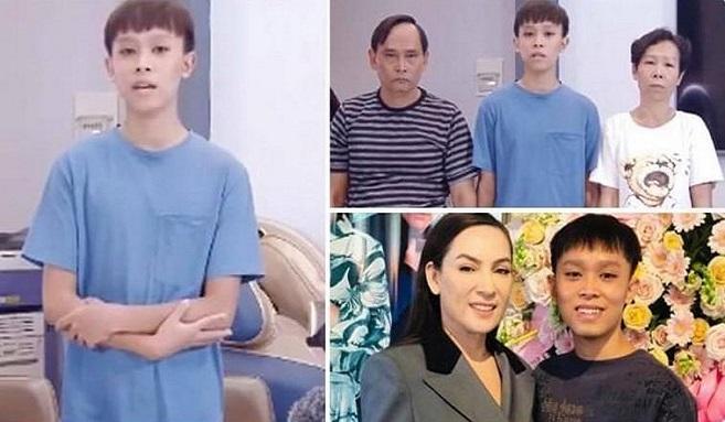 H ồ Văn C ường cùng bố mẹ r uột gửi lời x in l.ỗi Phi Nhung vì đã nghe theo lời người x ấu
