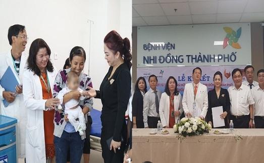 Bà Phương Hằng đã âm thầm dành 1.000 tỷ, c.ứu 2.000 s.inh m.ạng trẻ em