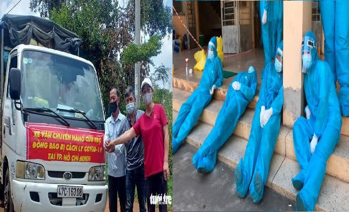 Người dân Đăk Nông giúp đỡ TP.HCM hàng ngàn tấn lương thực, thời điểm lá lành đùm lá rách