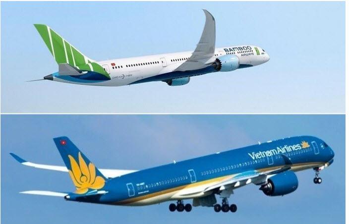 Bamboo Airways côngbốđườngbay thẳngViệtMỹ,23/9 khaithácchuyếnđầutiênHà Nội SanFrancisco.Vietnam Airlines tiến gần giấc mơ baythẳng đến Mỹ